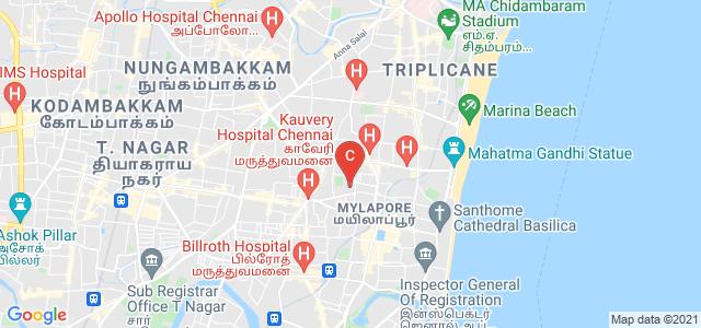 Ramakrishna Mission Vivekananda College, PS Siva Swamy Road, Luz, Mylapore, Chennai, Tamil Nadu, India