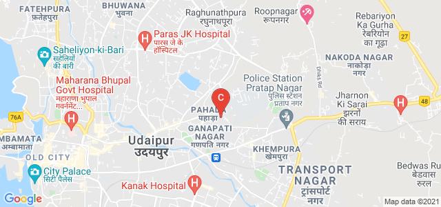 University Rd, Gokul Nagar, Ganesh Nagar, Udaipur, Rajasthan 313001, India