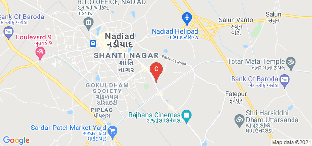 Dharmsinh Desai University, Akshar Township, Nadiad, Gujarat, India