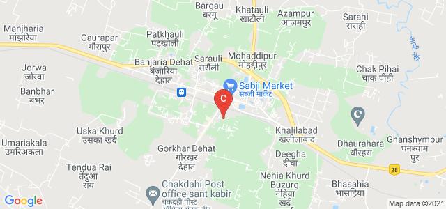 G.P.S Degree College, Khalilabad, Uttar Pradesh, India