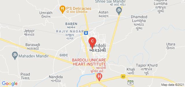 PATEL RAMAN BROTHERS ARTS & PATEL GOPALBHAI RANCHHODJI COMMERCE COLLEGE, BARDOLI, Nityanand Society, SURAT, Gujarat, India