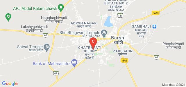 B. P. Sulakhe Commerce College, Barshi - Pune Highway, Chatrapati Colony, Barshi, Maharashtra, India