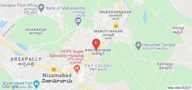 Nizamabad-Mancherial-Jagdalpur Road, Kanteshwar, Nizamabad, Telangana, India