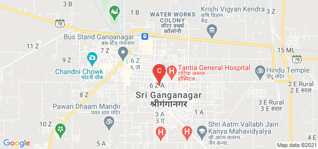 SETH G.L. BIHANI S.D. PG COLLEGE, SRI GANGANAGAR, Vrindavan colony, Sri Ganganagar, Rajasthan, India