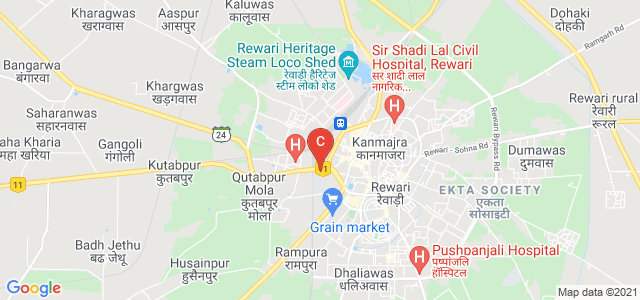 Ahir College Rewari, Near Nai Wali, Sati Colony, Rewari, Haryana, India