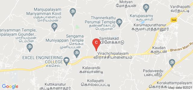 Vivekanandha Arts and Science College for Women, Mangarangampalayam, Namakkal, Tamil Nadu, India
