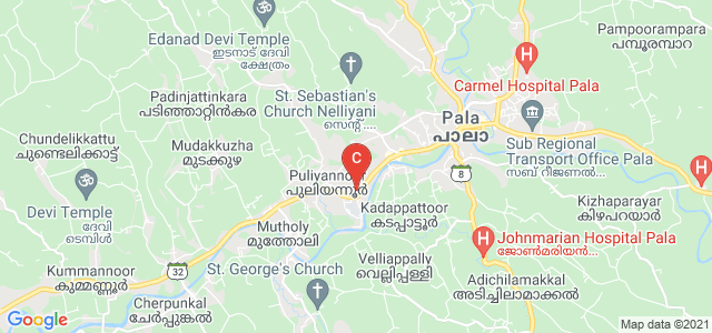 Alphonsa College, Pala, Arunapuram, Pala, Kerala, India