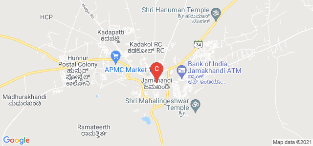 Jamkhandi, Bagalkot, Karnataka 587301, India
