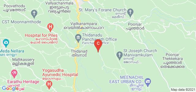 M.E.S. College, Erattupetta, Kottayam, Kerala, India