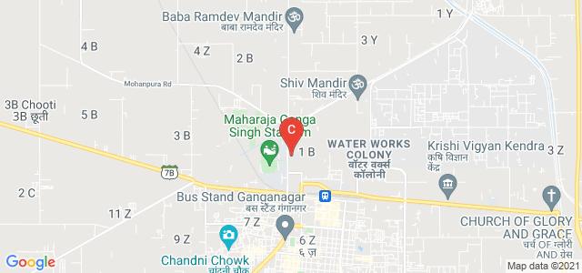 Maharshi Dayanand College, Hindumal Kot Road, Near Teen Puli, Water Works Colony, Sri Ganganagar, Rajasthan, India