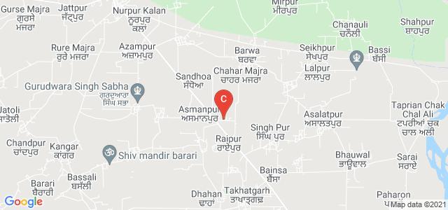 Sant Baba Sewa Singh Memorial Khalsa College Munne, Nurpur Bedi - Rupnagar Road, Raipur, Rupnagar, Punjab, India