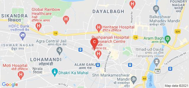 Raja Balwant Singh Degree College, Raja Balwant Singh Road, Nasirabad Colony, Khandari, Agra, Uttar Pradesh, India