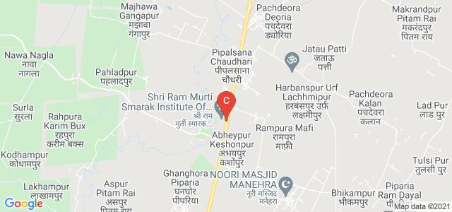 Shri Ram Murti Smarak Institute Of Medical Sciences, Bareilly - Nainital Road, near Fly Over, Rama Murti Nagar, Bhoji Pura, Uttar Pradesh, India