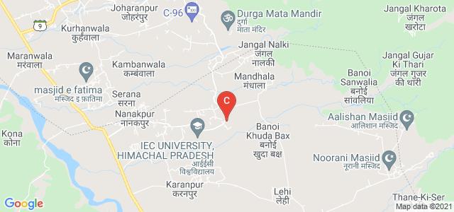 Maharaja Agrasen Institute of Technology, Solan, Haryana, India