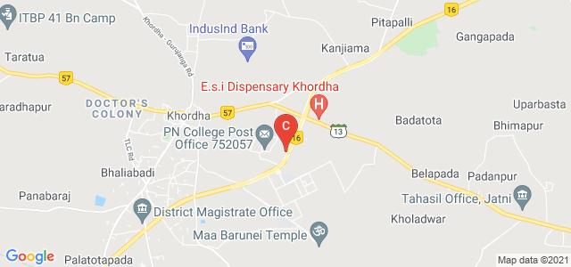 Prananath Autonomous College, Khordha, National Highway 16, Khurdha, Khordha, Odisha, India