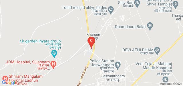 GHS Govt PG College, Sujangarh, Khanpur, Rajasthan, India