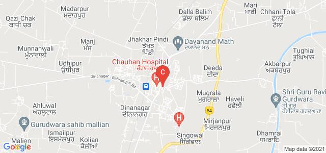 Shanti Devi Arya Mahila College, NH 15, Chander Vihar, Dinanagar, Punjab, India