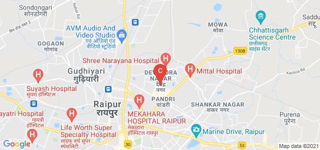 Kala & Vanijya Kanya Mahavidyalaya, Near Shri Gujrati Eng School, Sector 4, Jagriti Nagar, Devendra Nagar, Raipur, Chhattisgarh, India