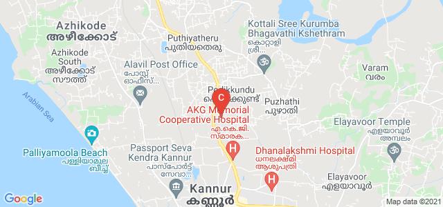 Krishna Menon Memorial Government Women's College, National Highway 66, Pallikkunnu, Kannur, Kerala, India