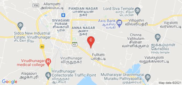 Virudhunagar Hindu Nadars' Senthikumara Nadar College (Autonomous), Anna Nagar, Virudhunagar, Tamil Nadu, India