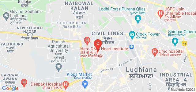 S.C.D. Government College, Scd govt college, Rose garden, Civil Lines, Ludhiana, Punjab, India