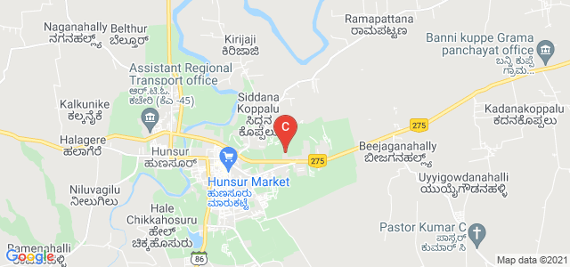 Sri D Devaraj Urs Government First Grade College, Hunsur, Karnataka, India