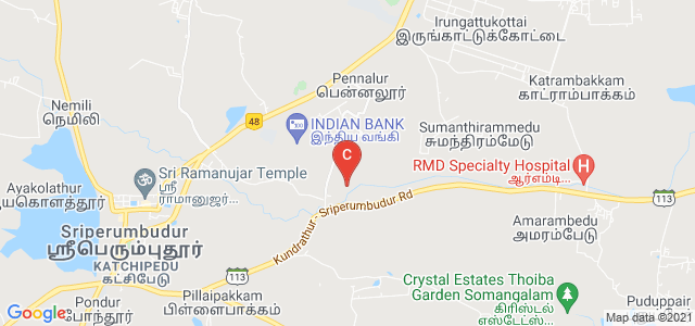 Sri Venkateswara College of Engineering, Sriperambudur, Tamil Nadu, India