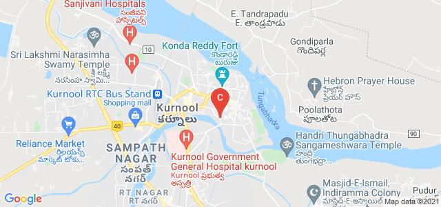 Osmania College Road, Peta, Bada Padakhana, Kurnool, Andhra Pradesh, India