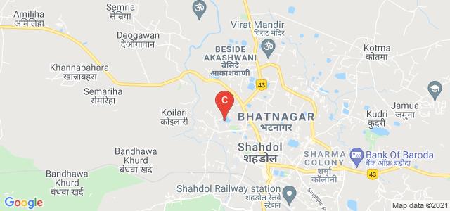 Pandav Nagar, Shahdol, Madhya Pradesh 484001, India