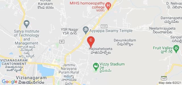 Maharajah's Post Graduate College, Phool Bagh Colony, Phool Bagh, Vizianagaram, Andhra Pradesh, India