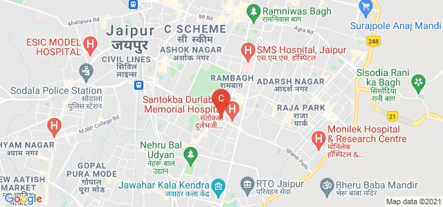 S.S. Jain Subodh P.G. Mahila Mahavidyalaya, Bhawani Singh Road, Rambagh, Jaipur, Rajasthan, India