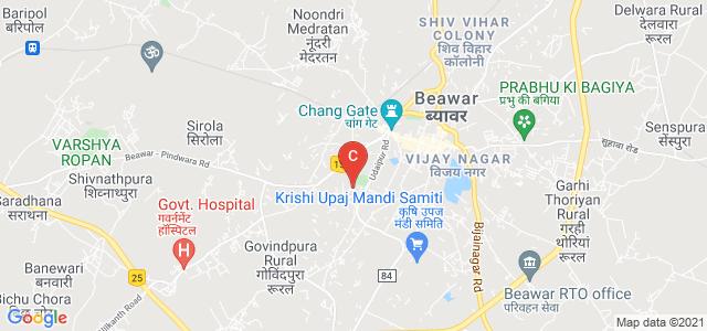 S.D. Govt. College, Beawar, Vidya Nagar, Beawar, Rajasthan, India
