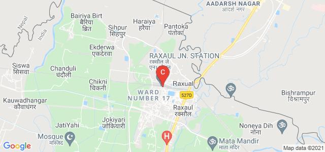 Raxaul Jn, Station Road, Raxaul, East Champaran, Bihar 845305, India