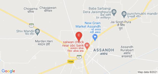 Jeevan Chanan Mahila Mahavidyalaya, Assandh, Assandh, Karnal, Haryana, India