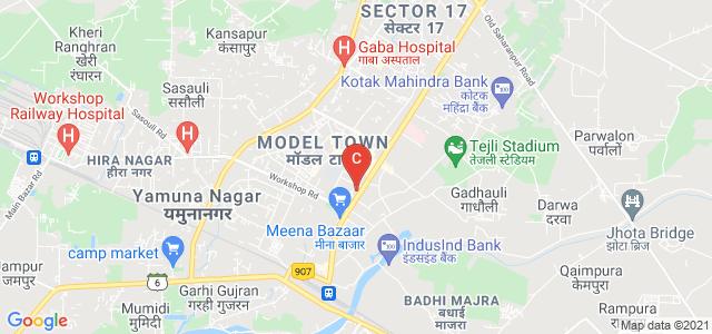 Guru Nanak Girls College, Model Town, Yamuna Nagar, Haryana, India