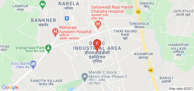 National Institute of Technology Delhi (New Campus), Garthi Khurad, Bakoli, Delhi, India