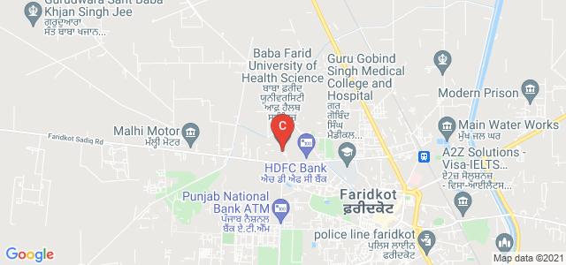 Baba Farid University of Health Sciences, Society Nagar, Faridkot, Punjab, India