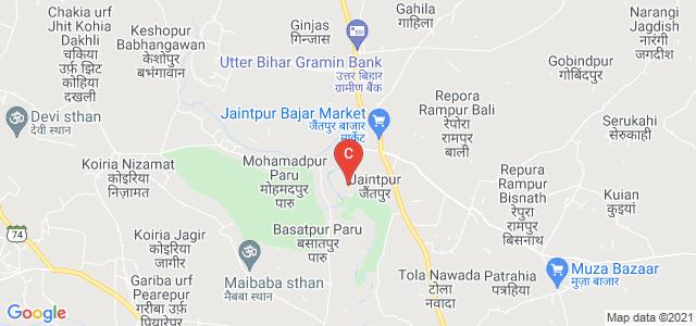 Jaintpur Road, Harshankarpur urf Jairam, Muzaffarpur, Bihar 843123, India