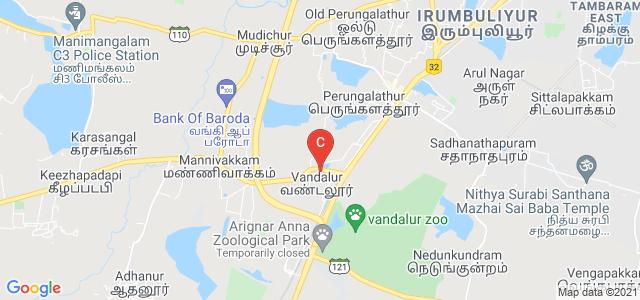 B.S.Abdur Rahman Crescent Institute Of Science & Technology, Chennai, Tamil Nadu, India