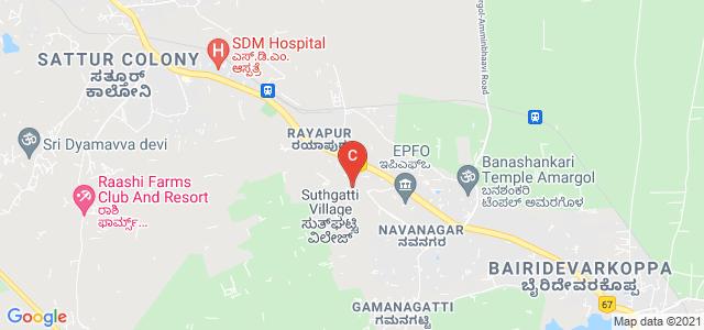 Karnataka State Law University, Sutagatti Road, Rayapur, Hubballi, Karnataka, India