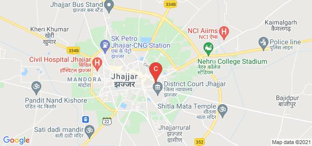 Shri Sanatan Dharam Institute of Pharmacy & Medical Technology, Jhajjar-Badli Road, Jhajjar, Haryana, India