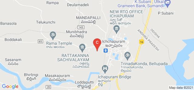 Government degree college, Ichchapuram, Andhra Pradesh, India