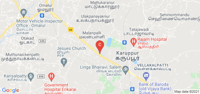 Periyar University, Salem, Tamil Nadu, India