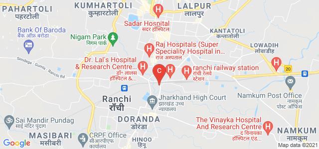 Amity University Jharkhand (RANCHI), City Campus, Doranda Main Rd, Nivaranpur, Forest Officers' Colony, Doranda, Ranchi, Jharkhand, India