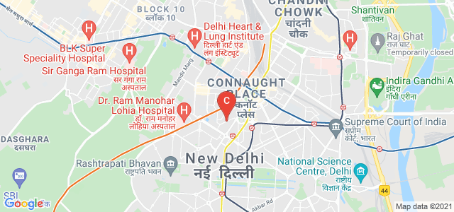 Jai Singh Marg, Connaught Place, New Delhi, Delhi, India