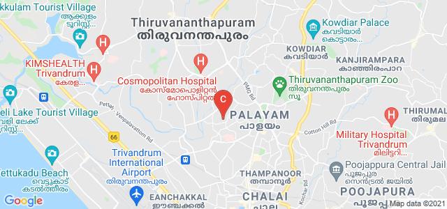 Government Engineering College Barton Hill Thiruvananthapuram, Barton Hill, Barton Hill Colony, Kunnukuzhy, Thiruvananthapuram, Kerala, India