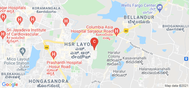 National Institute of Fashion Technology, 27th Main Road, Sector 1, PWD Quarters, 1st Sector, HSR Layout, Bangalore, Karnataka, India