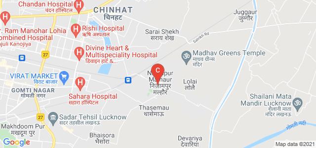 Amity University Lucknow Campus, Malhaur Railway Station Road, Gomti Nagar, Lucknow, Uttar Pradesh, India