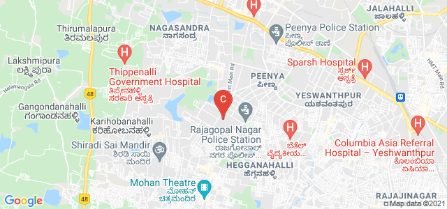 M S Ramaiah University of Applied sciences, 12th Cross Road, Ganapathy Nagar, Phase 3, Peenya, Bangalore, Karnataka, India