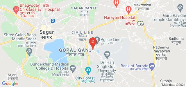 Dr.Harisingh Gour Vishwavidyalaya, Dr. Harisingh Gour Central University, Sagar, Madhya Pradesh, India
